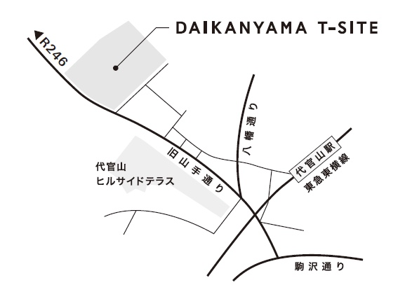 T-SITE MAP