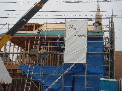 近藤家 建て前2